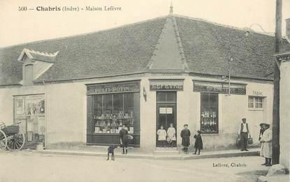 """CPA FRANCE 36 """"Chabris, Maison Lefèvre"""""""