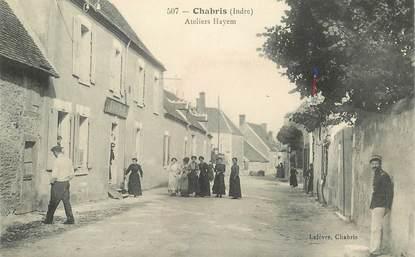 "CPA FRANCE 36 ""Chabris, Ateliers Hayem"""
