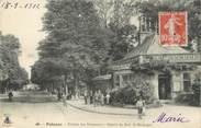 """92 Haut De Seine / CPA FRANCE 92 """"Puteaux, station des tramways du bois de Boulogne"""""""