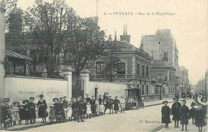"""/ CPA FRANCE 92 """"Puteaux, rue de la République"""""""