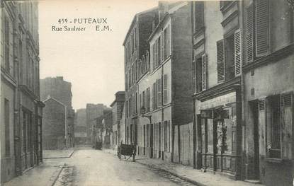 """/ CPA FRANCE 92 """"Puteaux, rue Saulnier"""""""