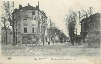 "/ CPA FRANCE 93 ""Bobigny, rue Jean Jaurès"""