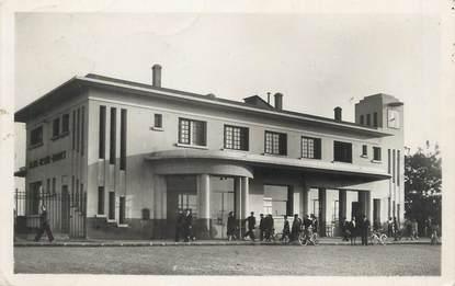 """/ CPSM FRANCE 93 """"Le Blanc Mesnil Drancy, la gare"""""""