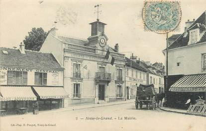 "/ CPA FRANCE 93 ""Noisy le Grand, la mairie"""