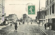 "47 Lot Et Garonne CPA FRANCE 47 ""Marmande, Place et Faubourg Puygueraud"""