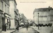 "47 Lot Et Garonne CPA FRANCE 47 ""Marmande, Place Clemenceau et rue Puygueraud, café des sports"""