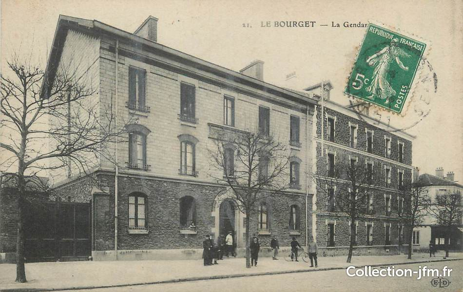 Le Bourget France  city pictures gallery : CPA FRANCE 93