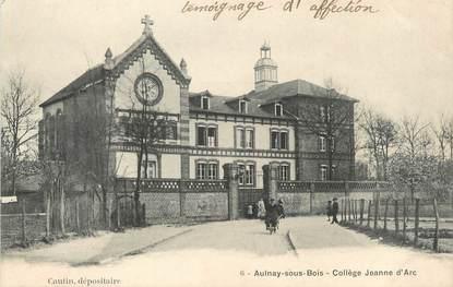 "/ CPA FRANCE 93 ""Aulnay sous Bois, collège Jeanne d'Arc"""