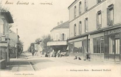"""/ CPA FRANCE 93 """"Aulnay sous Bois, bld Duthoit"""""""