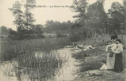 """/ CPA FRANCE 93 """"Coubron, la mare du moulin"""""""