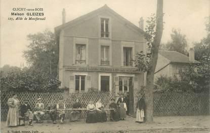 "/ CPA FRANCE 93 ""Clichy sous Bois, maison Gleizes"""