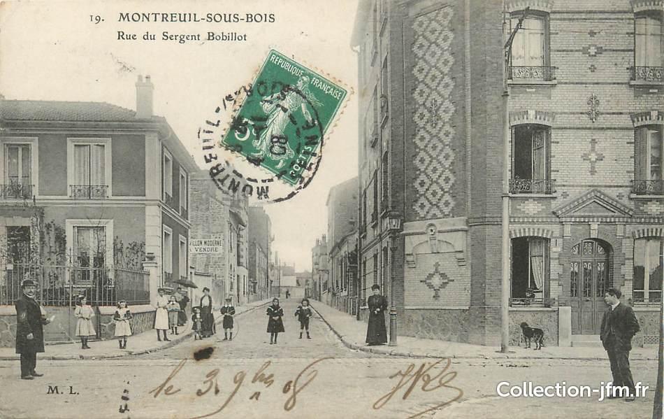 CPA FRANCE 93 Montreuil sous bois, rue du Sergent  ~ Hopital De Montreuil Sous Bois