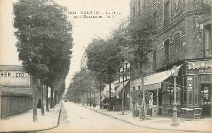 "/ CPA FRANCE 93 ""Pantin, la rue"""