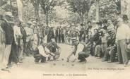 """84 Vaucluse CPA  FRANCE 84  """"Avignon, joueurs de boules"""""""