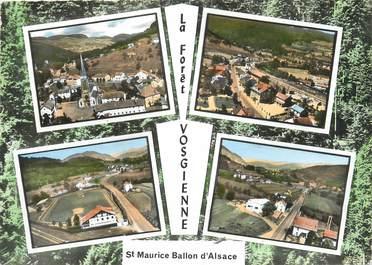 "/ CPSM FRANCE 88 ""Saint Maurice Ballon d'Alsace"""