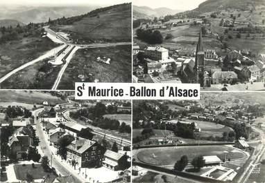 "/ CPSM FRANCE 88 ""Saint Maurice Ballon d'Alsace """
