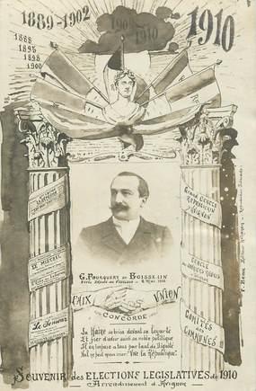 """CARTE PHOTO FRANCE 84  """"Avignon"""" /  POLITIQUE 1910"""
