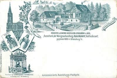 """CPA FRANCE 67  """"Strasbourg, 1895"""""""