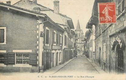 """CPA FRANCE 64 """"Saint Jean Pied de Port, Rue d'Espagne"""""""