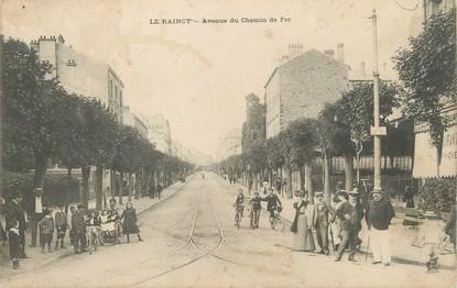 """/ CPA FRANCE 93 """"Le raincy, av du chemin de  fer"""""""