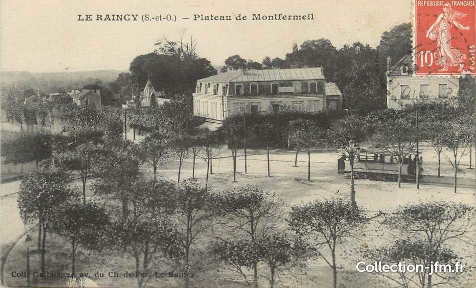 Cpa france 93 le raincy plateau de montfermeil for Garage de l eglise le raincy