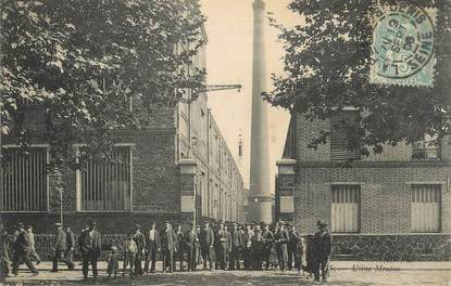 "/ CPA FRANCE 93 ""La Plaine Saint Denis, usine Mouton"""