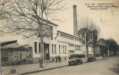 "/ CPA FRANCE 93 ""Saint Denis, bld Félix Faure"""