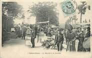 """93 Seine Saint Deni / CPA FRANCE 93 """"Saint Ouen, le marché à la ferraille"""""""