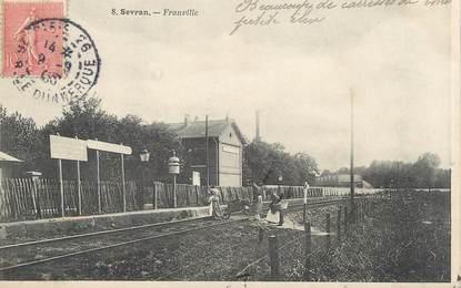 "/ CPA FRANCE 93 ""Sevran, Franville"""