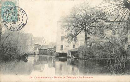 """/ CPA FRANCE 77 """"Coulommiers, moulin de Triangle"""""""
