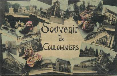 "/ CPA FRANCE 77 ""Souvenir de Coulommiers """