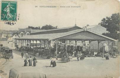 """/ CPA FRANCE 77 """"Coulommiers, halle aux fromages"""""""