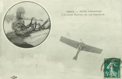 """CPA  AVIATION """"Circuit de l'Est, FRANCE 54 Nancy Jarville, Aviateur PREVOST"""""""