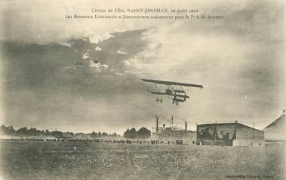 """CPA  AVIATION """"Circuit de l'Est, FRANCE 54 Nancy Jarville, Aviateurs LEGAGNEUX et LINDPAINTNER"""""""