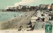 """35 Ille Et Vilaine CPA FRANCE 35 """"Paramé, la plage à Rochebonne"""""""