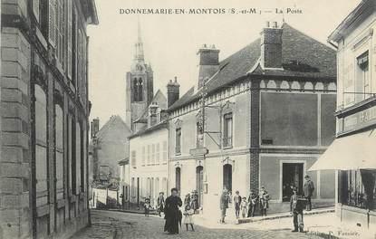 """/ CPA FRANCE 77 """"Donnemarie en Montois, la poste"""""""