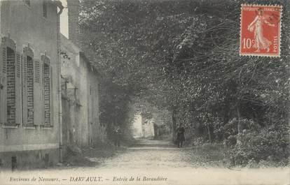 """/ CPA FRANCE 77 """"Darvault, entrée de la Baraudière"""""""