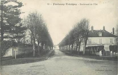 """/ CPA FRANCE 77 """"Fontenay Trésigny, bld de l'Est"""""""
