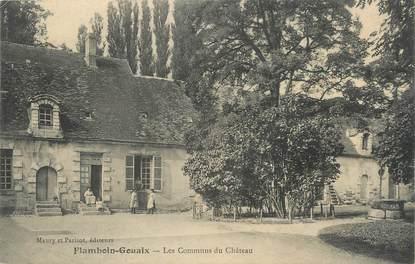 """/ CPA FRANCE 77 """"Flamboin Gouaix, les communs du château"""""""