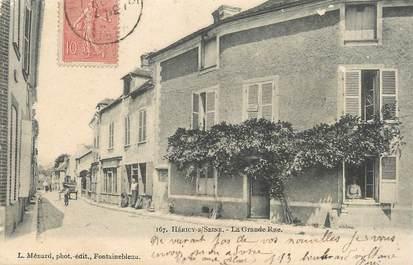 """/ CPA FRANCE 77 """"Héricy sur Seine, la grande rue"""""""