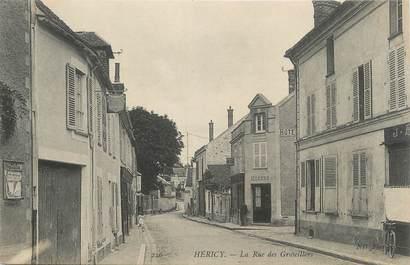 "/ CPA FRANCE 77 ""Héricy, la rue des Groseillers"""