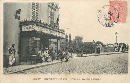 """/ CPA FRANCE 77 """"Lagny Thorigny, pont de fer"""""""