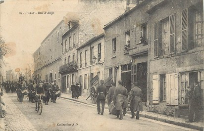 "CPA FRANCE 14 ""Caen, Rue d'Auge"""