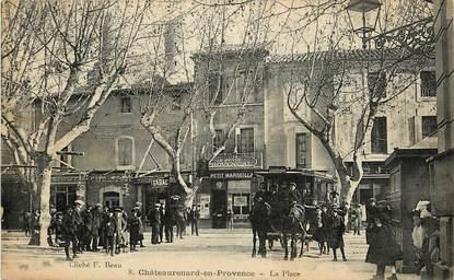"""CPA FRANCE 13 """"Chateaurenard en Provence, la Place"""""""