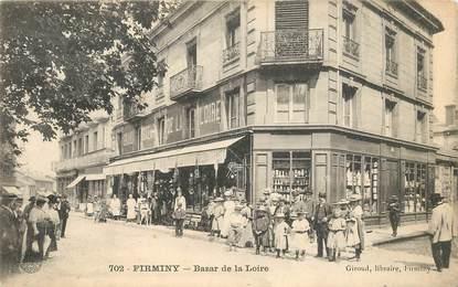 "CPA FRANCE 42 ""Firminy, Bazar de la  Loire"""