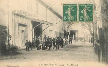 "CPA FRANCE 84   ""Les Vignères, rue Morizot"""