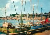 """29 Finistere / CPSM FRANCE 29 """"Audierne, bateaux à quai"""""""