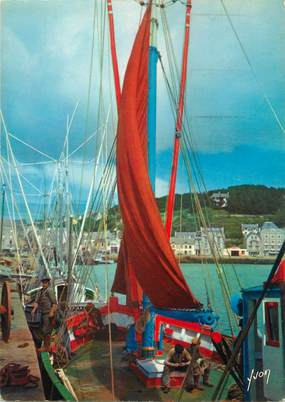 """/ CPSM FRANCE 29 """"Audierne, le port de pêche"""""""