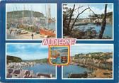 """29 Finistere / CPSM FRANCE 29 """"Audierne, le port et la ville """""""
