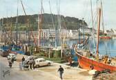 """29 Finistere / CPSM FRANCE 29 """"Audierne, le port, thoniers à quai """""""